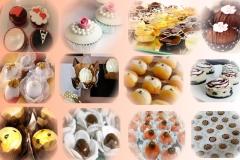 Doces finos e tradicionais para festas
