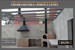 Churrasqueira com forninho de pizza, forno a lenha, churrasqueira e forno, churrasqueira com coifa, churrasqueira em varanda de apartamento, churrasqueira high tech, churrasqueira moderna, varanda com churrasqueira, churrasqueira em apartamento, churrasqueira com coifa, churrasqueira, churrasqueiras é na bella telha www.bellatelha.com.br 11 4555-5444