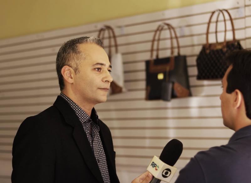 Entrevista ao Jornal Estadual da Rede Globo