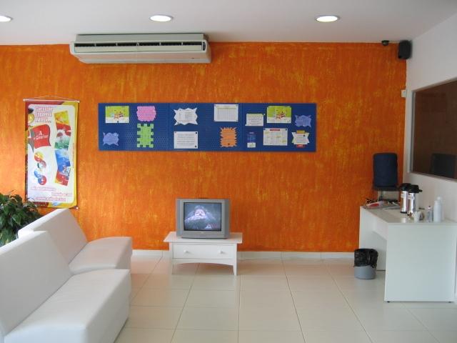 Sala de espera inFlux Guarulhos