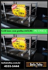 Gril para churrasqueiras em mais uma das super promoções da bella telha www.bellatelha.com.br