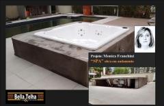 Spa, spa em acrilico, hidromassagem, loja especializada em spas, bella telha www.bellatelha.com.br