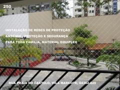 Redes de Proteção na Vila  Mascote, cep 04362-020