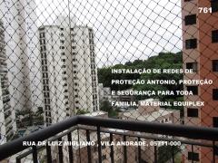 Redes de Proteção na Vila Gumercindo .