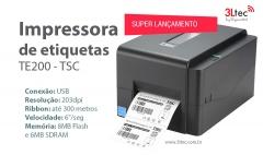 Impressora de etiquetas térmica tsc