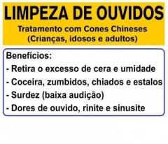 Dé schmitz - terapeuta holística - limpeza de ouvido com cone chinês em são josé sc - atendimento pessoal e venda de cone chinês, cone hindu,canudo de cera, vela hopi, vela de ouvido vela indiana . para agendamento, compra de cones e informaÇÕes, ligue para: (48) 3094-5746 (fixo) (48) 99131-9240 (vivo e whatsapp) (48) 99678-7801 (tim)  . a técnica de limpeza, desobstrução e purificação do canal dos ouvidos com cones ou canudos é uma sabedoria muito antiga . hoje, os cones de ouvido são utilizados em todo o mundo como uma terapia alternativa tanto em adultos ou crianças. o tratamento é indolor, trazendo uma sensação agradável e satisfatória.  indicaÇÕes: excesso de cerúmen: eliminado pelo calor e o efeito de sucção deste procedimento. dores de ouvido ou tontura problemas crônicos de nariz e garganta ouve cada dia menos desinflama os ouvidos, sem deixar umidade dentro, eliminando fungos e bactérias melhora a concentração e aumento da lucidez do limpar pequenos vasos sanguíneos limpa ao mesmo tempo nariz e garganta, eliminando problemas de sinusite e rinite insônia dor de cabeça enxaquecas provocadas por pressão auricular. perda de audição por bloqueio de secreções, causada por rinite, sinusite e otites. zumbido nos ouvidos causado por presença de fluídos. otite: o calor pode ter um efeito calmante da dor, mas é preciso consultar um médico para determinar as causas. febre provocada pela dor de ouvido: calor benéfico. higiene dos ouvidos sem riscos de dano; nervosismo: relaxamento efetivo que ajuda acalmando as mensagens transmitidas do sistema sensorial. afecções de garganta e cordas vocais; .  dé schmitz - terapeuta holística - limpeza de ouvido com cone chinês em são josé sc - atendimento pessoal e venda de cone chinês, cone hindu,canudo de cera, vela hopi, vela de ouvido vela indiana  . para agendamento, compra de cones e informaÇÕes, ligue para: (48) 3094-5746 (fixo) (48) 99131-9240 (vivo e whatsapp) (48) 99678-7801 (tim)  .  limpeza dos ouvidos com cone chines, co