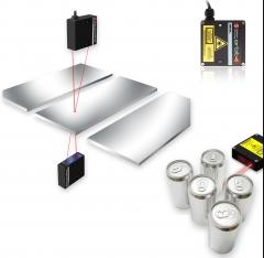 Sensores de medição a laser - sem contato