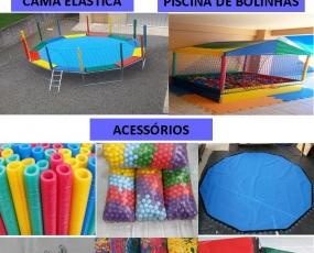 Suprema Brinquedos. Fabricação cama elástica piscina de bolinhas e brinquedos infláveis