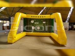 Chute a gol inflável - copa do mundo - 3x3m