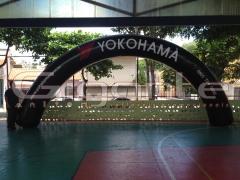 Portal arco inflável - YOKOHAMA