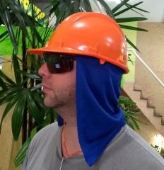 Capuz de helanca para proteção do pescoço