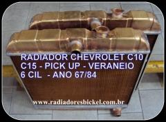 RADIADORES BICKEL - RADIADOR CHEVROLET C10 C15 VERANEIO