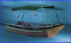Barco para pesca e passeio modelo 600 - duralum�nio