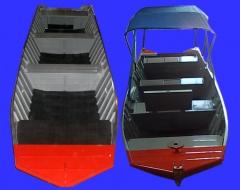Barco para pesca e passeio modelo ch 602 - duralumínio