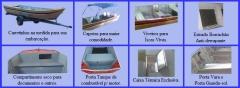 Lanchas e barcos personalizados - duralumínio