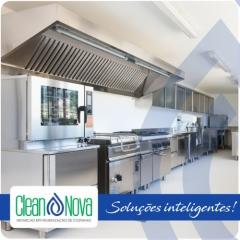 Higienização de cozinhas