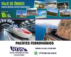 Diversas opções de viagem é na vijac turismo.