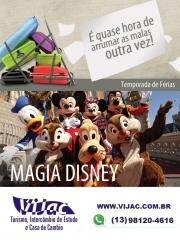 Disney é com a vijac turismo