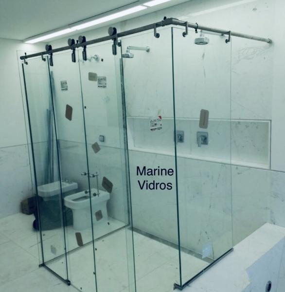 Box de Banheiro em Inox