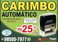 carimbo automatico