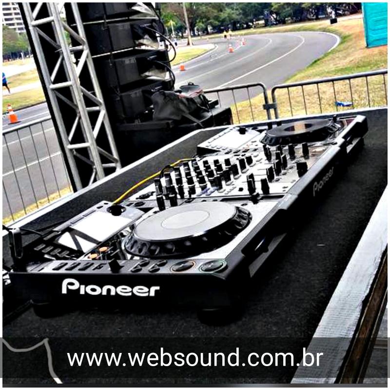 Sonorização no Aterro do Flamengo