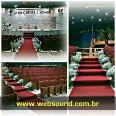 Evento na Igreja Universal - Som e Tapete Vermelho