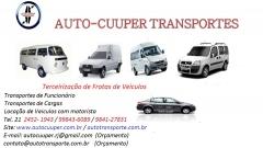 Oferecemos serviços de transportes de cargas e distribuição de mercadoria e terceirização de frotas de veiculos utilitário 21 24521943 / 984127831  site:www.autocuuper.com.br