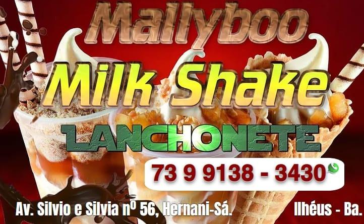 Milk Shake em Ilhéus.