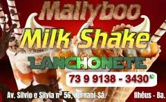 Mallyboo milk shake em ilhéus.