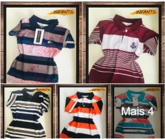 - camisas polo infantil masculino r$24,90