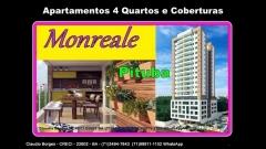 Monreale Pituba Apartamentos 4 Quartos em Salvador Apartamentos com 4 Quartos com 2 suítes ou 3 suítes e sala ampliada, varanda gourmet, localizado em local nobre da Pituba, com uma boa infraestrutura local, Inovador no visual e na tecnologia de construção. Venha conferir pessoalmente e marque sua visita agora!!!!! Mais detalhes entre em contato: Claudio Borges   CRECI 22602 BA  (71)3494-7843 (71)99911-1102 WhatsApp