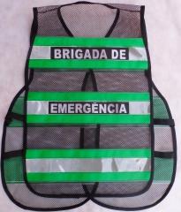 Viraplast - colete refletivo brigada de emergência