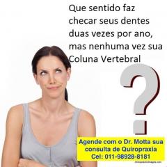 check up da coluna vertebral