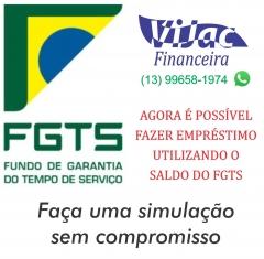 Use o seu fgts como garantia de empréstimo na vijac financeira.