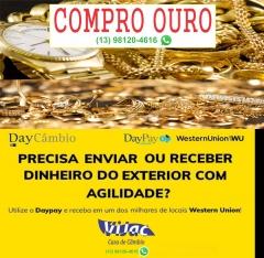 Compramos ouro - transferência western union - vijac