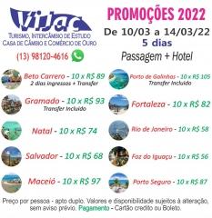 Show de ofertas cvc e vijac turismo