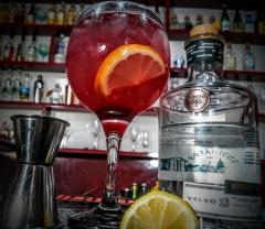 Drink bartender gin
