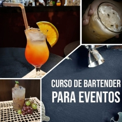 Curso profissional Bartender
