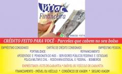 Mais Informações acesse: http://vijac.com.br/financeira ou pelo Whatsapp (13) 99658-1974