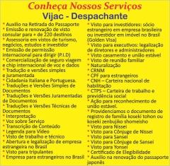 Você sabia que a Vijac não é somente uma agência de viagem? confira a baixo a relação de serviços oferecido pela nossa empresa. Se precisar de algum desses, estamos a disposição. Mais Informações acesse: http://vijac.com.br/ ou pelo Whatsapp (13) 99725-1749