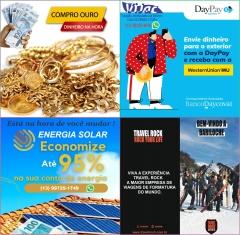 Vijac - Turismo, Intercâmbio de Estudo, Casa de Câmbio, Financeira, Comércio de Ouro e Comércio de Energia Solar