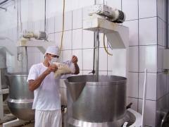 Produ��o de doce tacho de mistura