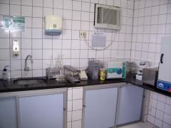 Laboratório de controle da qualidade