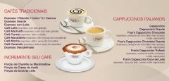 Cafés e cappuccinos