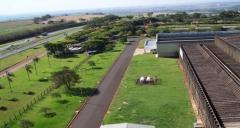 Vistas da fábrica