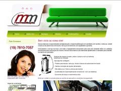 Website m&m impermeabilizações em paulínia/sp