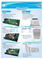 Sistemas de alarme posonic: controle seu sistema de alarme via senha de acesso. muito mais funcionalidades e segurança pra você.