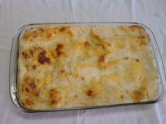Lasagna de bacalhau