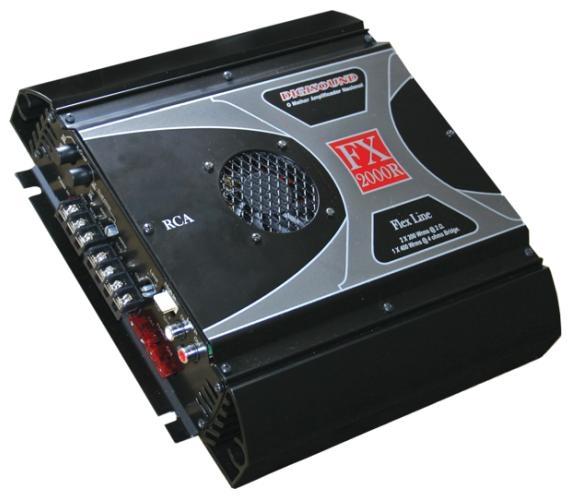 Amplificador FX RCA - FX2000R