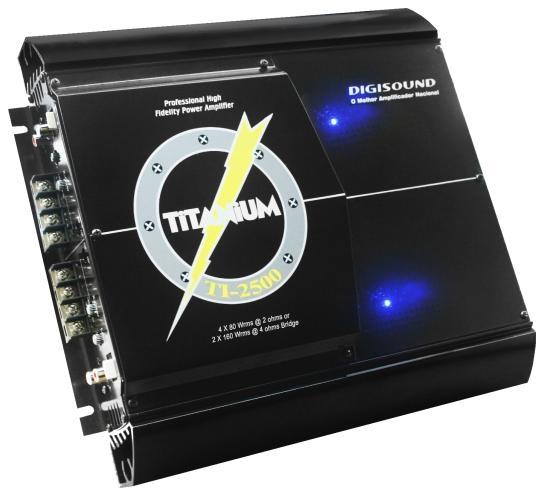Amplificador Titanium TI2500